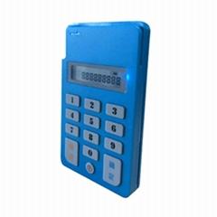 帶液晶屏按鍵磁條芯片卡藍牙讀卡器HX-BL02