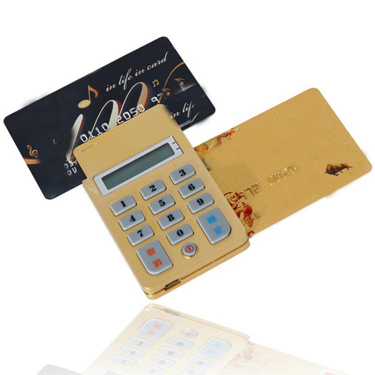 带液晶屏按键磁条芯片卡蓝牙读卡器HX-BL02 3