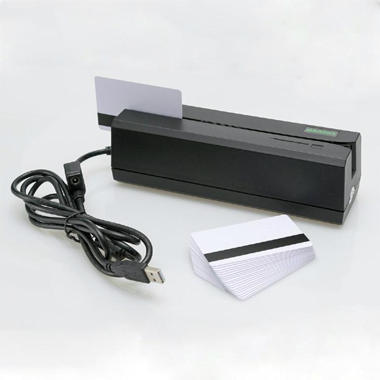 大量批发MSR605高抗全三轨磁卡写卡机 1