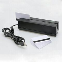 大量批发MSR605高抗全三轨磁卡写卡机