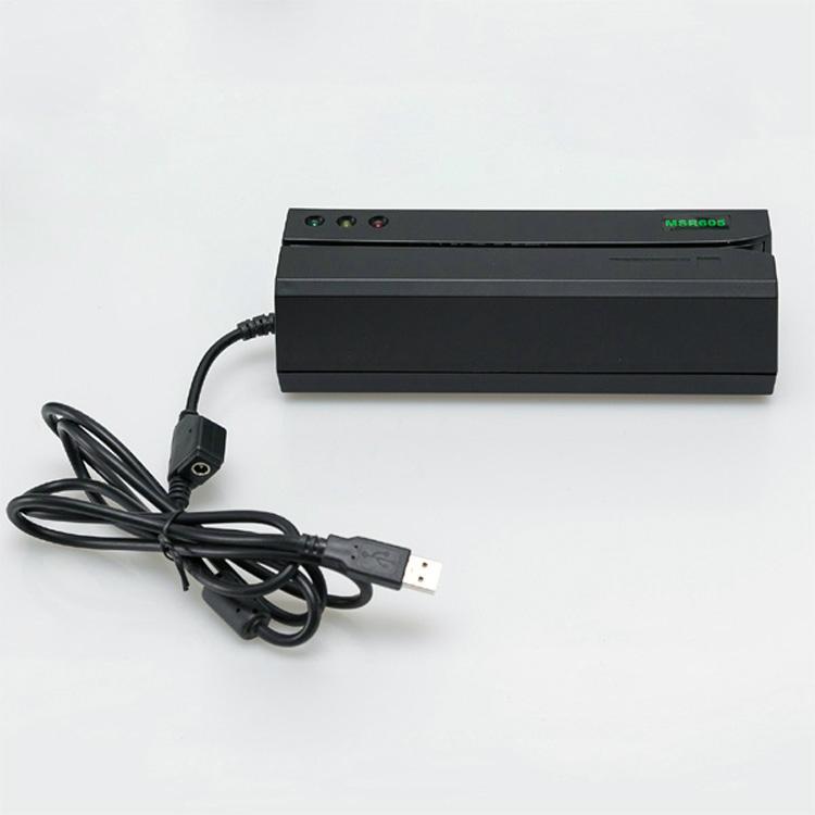 大量批发MSR605高抗全三轨磁卡写卡机 2