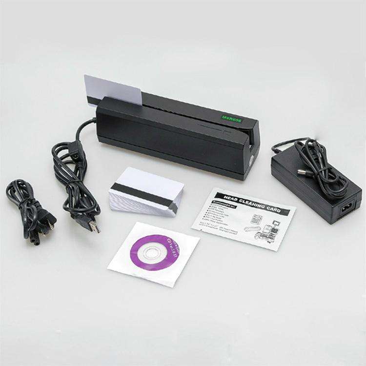 大量批发MSR605高抗全三轨磁卡写卡机 3