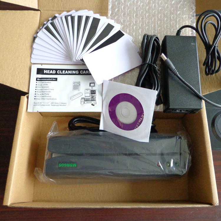 大量批发MSR605高抗全三轨磁卡写卡机 5