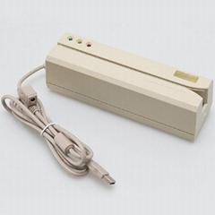 厂家直销MSR609磁条卡读卡器支持EMV标准磁卡读写