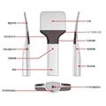 HX-A100防伪巡更RFID读写器多标签快速远距离UHF盘点器 2