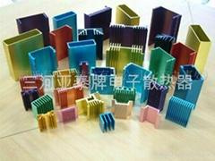 全系列鋁擠鋁型材電子散熱器