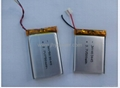 Hot sale lithium polymer battery 503040 550mah used in beauty equipment