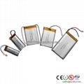 数码类充聚合物电池113050