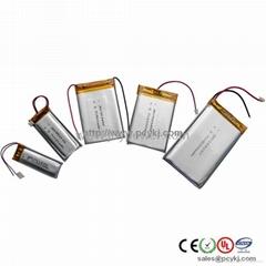 數碼類充聚合物電池113050 2000mah