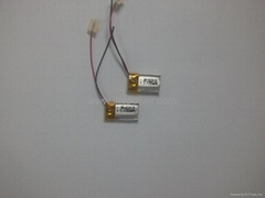 3D 眼镜聚合物锂离子电池351230 75mah