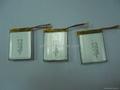 导航仪可充电锂离子电池3.7v 514046 1000mah 1
