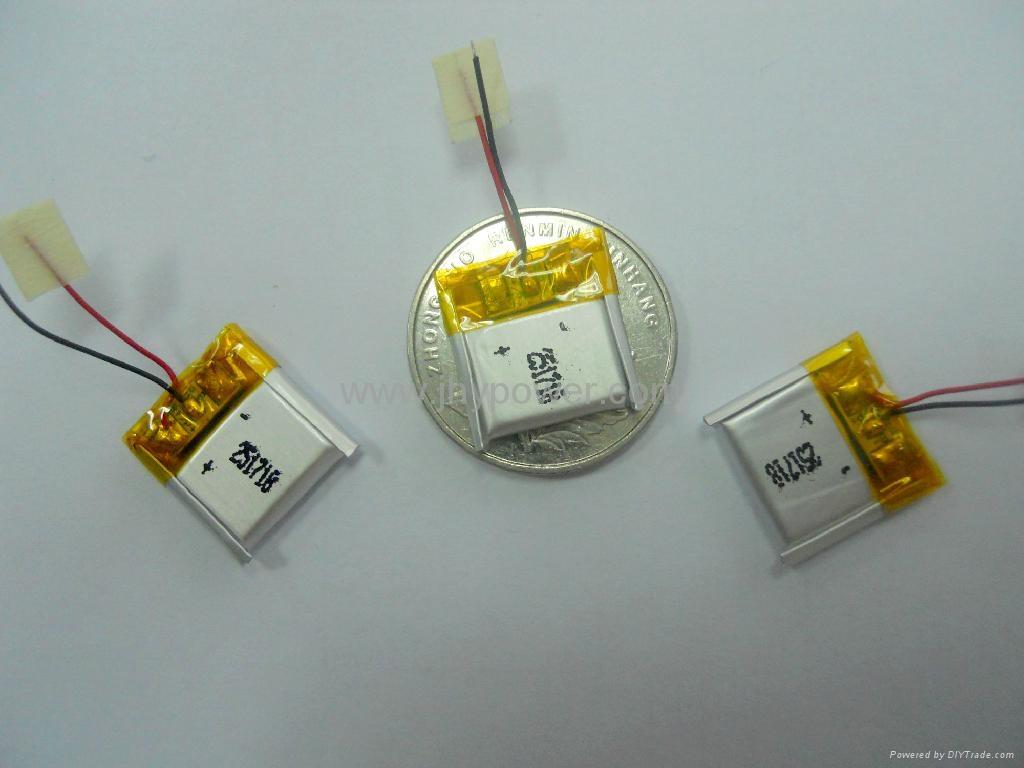 导航仪可充电锂离子电池3.7v 514046 1000mah 4