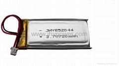 点读笔可充电锂离子电池3.7v 852044 720mah