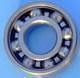 Hybrid construction ceramic ball bearing