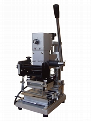 PVC card manual hot stamping machine
