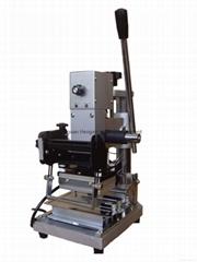 Mini bank card manual hot stamping machine