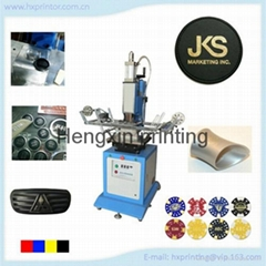 Manufacturer top quality pneumatic automatic flat hot stamping machine