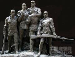 石雕部隊雕塑