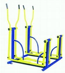 陝西西安小區健身器材兩聯平步機