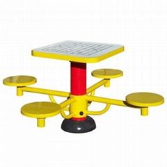 陝西西安小區健身器械棋盤桌