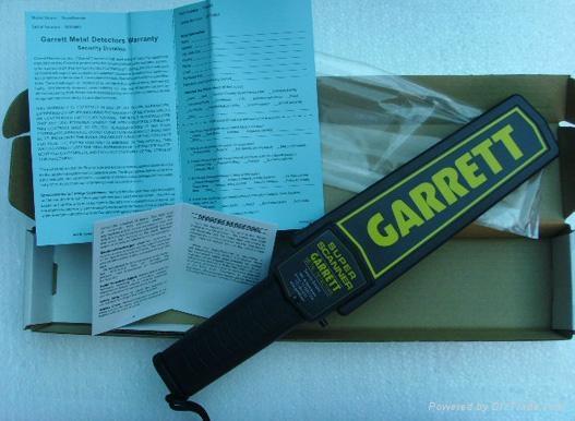 蓋瑞特手持式金屬探測器 3