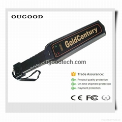 China best hand held gold detector, metal detector for wholesale