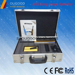AKS Long range detector, Depth 14m Cooper,Gold,Silver and Diamond metal detector