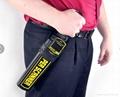 Protable hand held metal detector price, metal detector super body scanner