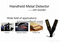 GP-3003B1 Protable hand held metal detector price