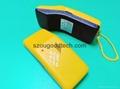 Handheld broken needle metal detector,small iron needle detector for garment