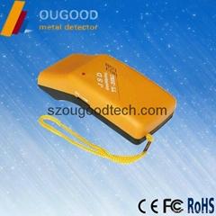 Handheld broken needle metal detector,small iron needle detector clothes factory