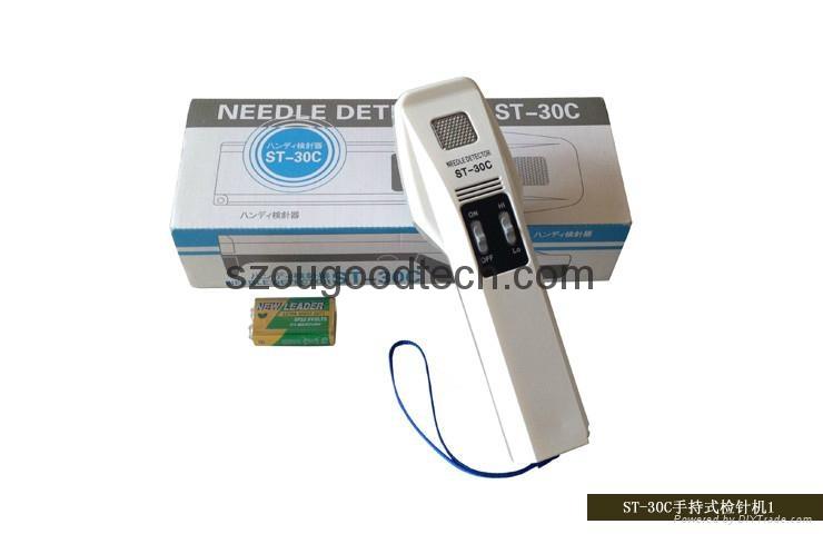 Magnetic Induction broken needle detector can adjust needle detector