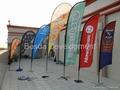 flying banner beach flag feather flag knife flag exhibition advertising flag