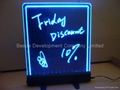 Smart LED Writing board with 7 colors changing automatically LED menu sign 2