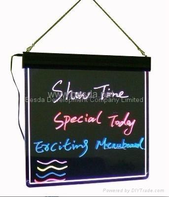 LED Writing board LED writing menu WB-01 1