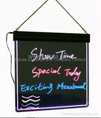 LED Writing board LED writing menu WB-01