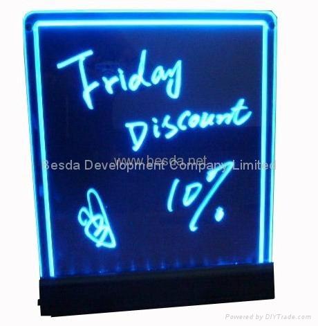 LED Writing board LED writing menu WB-01 2