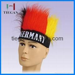 Germany Football Fans spirit hair wig