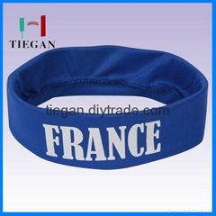Colorful country  flag sports  Cool Head Band
