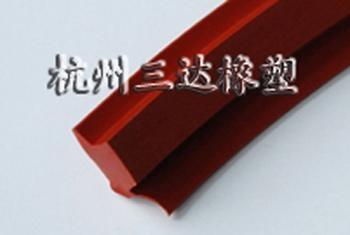 耐高温硅胶密封条 1