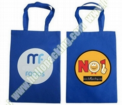 Recycled Promotional NonWoven Shopping Tote Bag