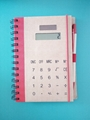 Promotion dual Notebook Calculator with pen 1