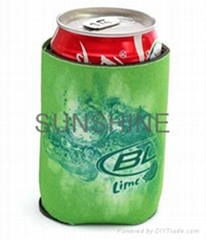 Neoprene Collapsible Koozie