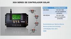 LCD 带USB系列太阳能充电控制器