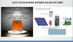 solar controller - three phases