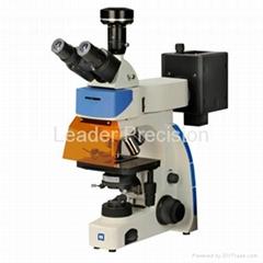 Upright Trinocular Fluorescence Microscope