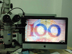 Digital video recording system for operating microscope: CCD adapter, ccd camera