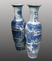 1.8米青花瓷大花瓶 2