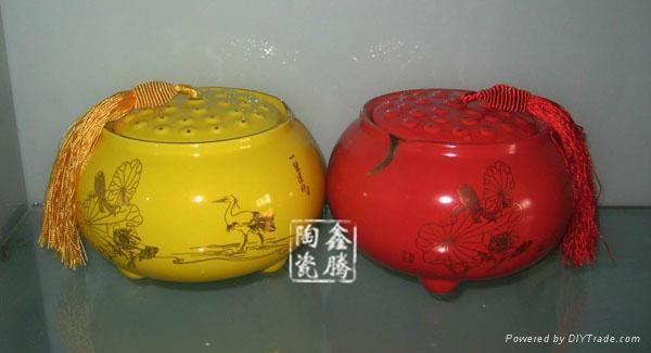 2兩裝青花瓷陶瓷茶葉罐 2