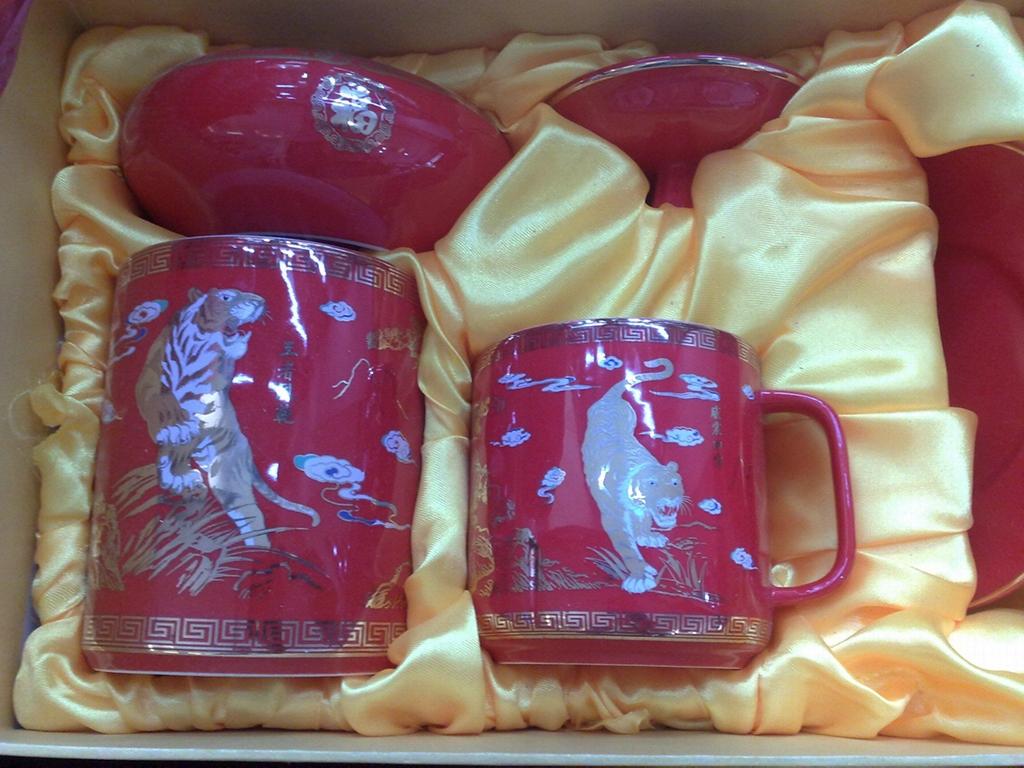 景德鎮陶瓷茶杯 2